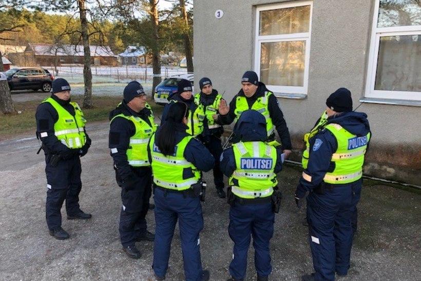 Politseinikud harjutasid ulatusliku evakuatsiooni korraldamist