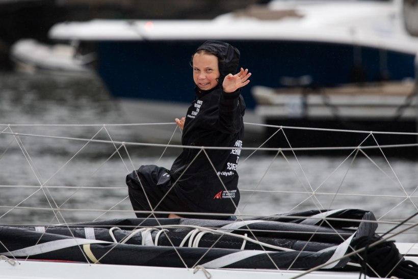 KUIDAS EDASI? Hätta sattunud kliimaaktivist Greta Thunberg palub abi