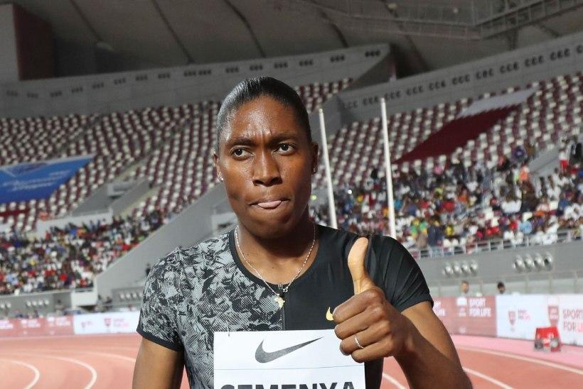 TOHOH! Semenya, keda IAAF võistlema ei luba, nimetati olümpiakoondise kandidaatide sekka