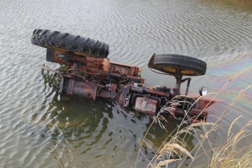 Tiiki sõites hukkunud mees oli elukutseline traktorist