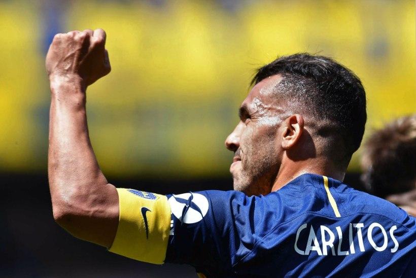 VIDEO | Argentina jalgpallilegend virutas koduses liigas kauni värava