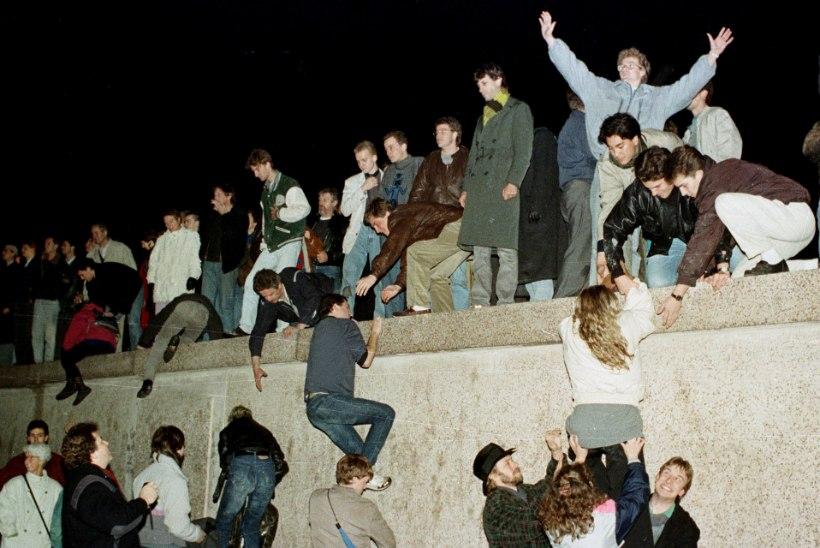 NATUKE NALJA: Ida-Saksa anekdoodid Berliini müüri kohta