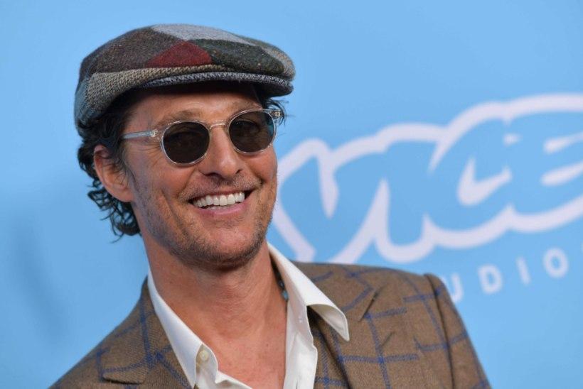 Matthew McConaughey ühines 50. sünnipäeva puhul Instagramiga