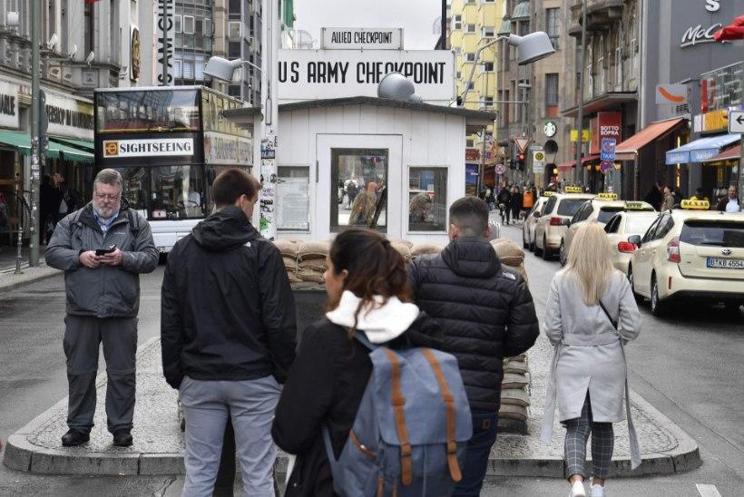 Berliin keelas suure tähtpäeva puhul ära tüütute turistipüüdjate rahanuiamise