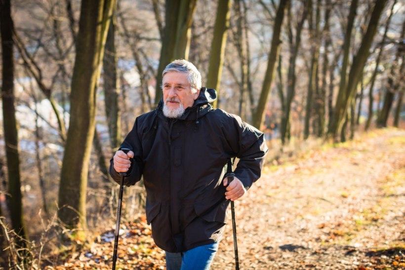 Südame tugevdamiseks kõnni end higiseks