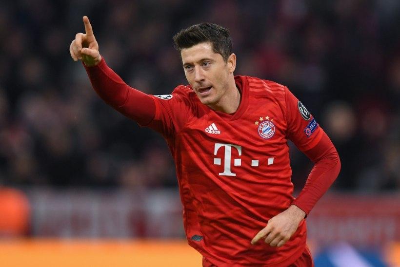 Lewandowski pöörane seeria jätkus ka uue peatreeneri käe all, Manchester City kaitsja kehastus väravavahiks