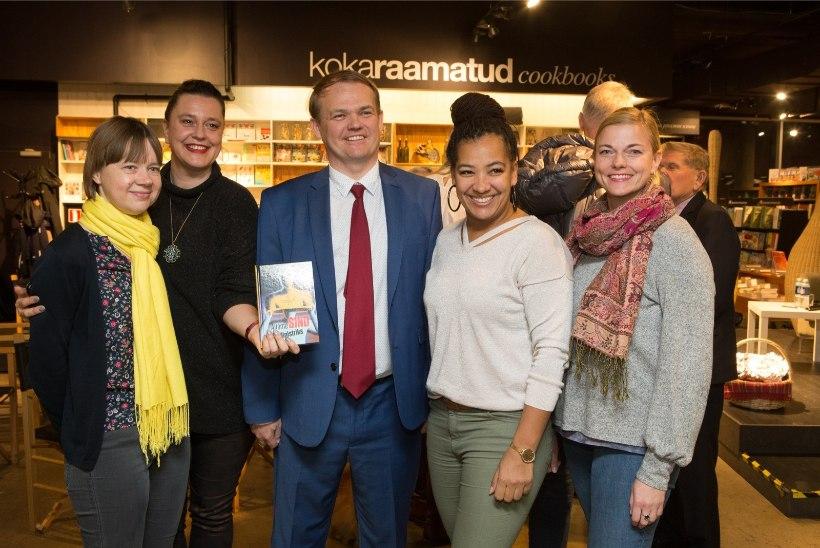 ÕL VIDEO JA GALERII | Renee Meriste uus raamat õpetab lihtsaid võtteid, kuidas valutult poliitikasse siseneda