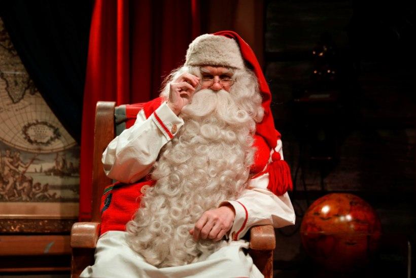 VAATA OTSEÜLEKANNET: jõuluvana avab Lapimaal pühadehooaja