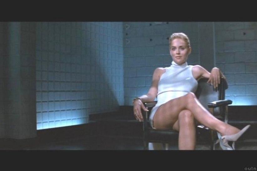 Sharon Stone kordas teismelise poja silme all kurikuulsat hargitamisstseeni