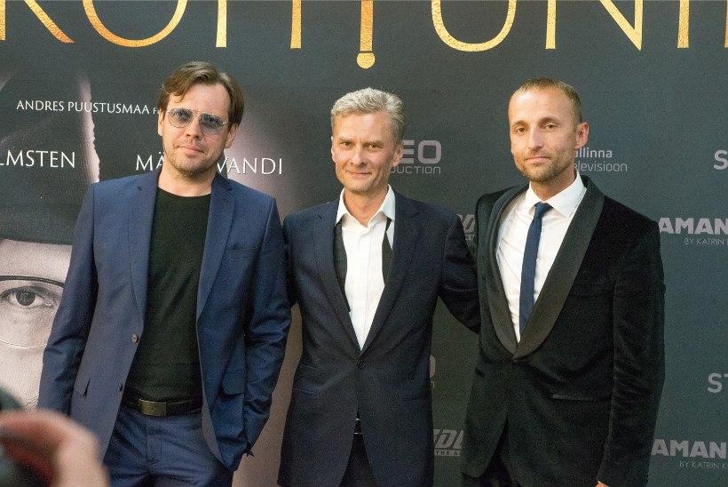Mait Malmsten, Andres Puustusmaa ja Priit Pajusaar nägid Rooma filmifestivali väisates oma silmaga paavsti