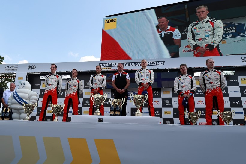 HÄÄLETAMA! Tänaku eestvedamisel Saksamaal triumfeerinud Toyota võistleb Citroeni ja M-Spordi saavutustega