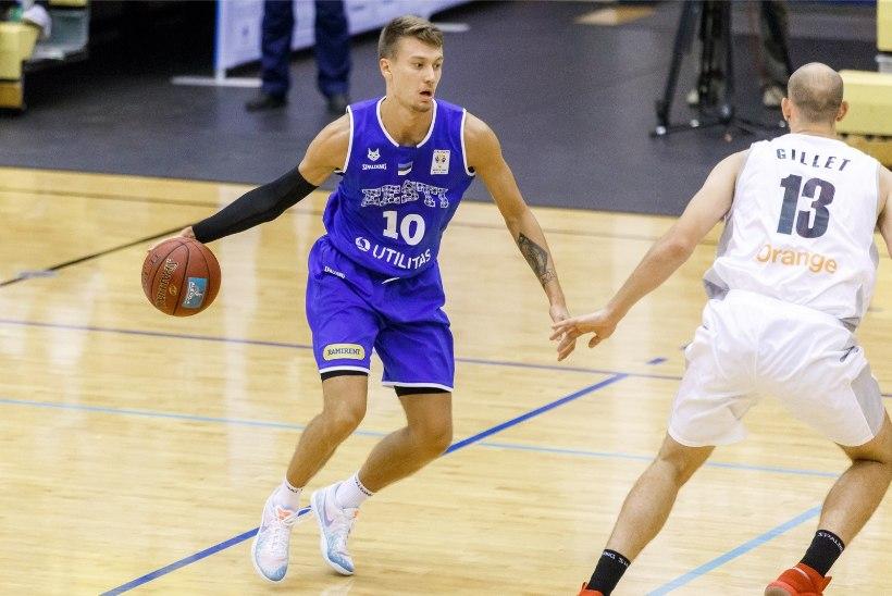 SEITSE KAUGVISET! Välismaal palliv Eesti korvpallur tegi vaimustava mängu