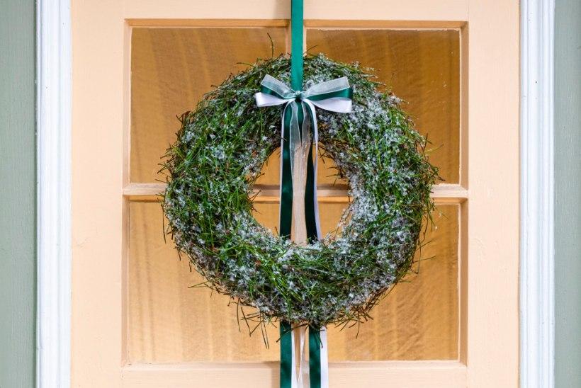 Jõulutervitus uksel