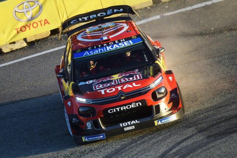 Ripakile jäänud Citroeni WRC-masinad – kas põhjus hoiupõrsa katki löömiseks?