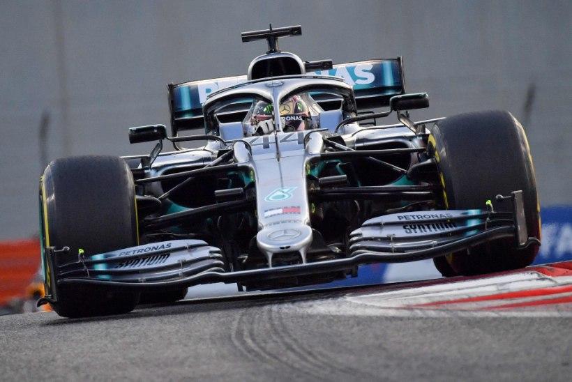 Hamilton pani kuldsele hooajale ilusa punkti, diskvalifitseerimist kartnud Leclerc jäi ikkagi poodiumile