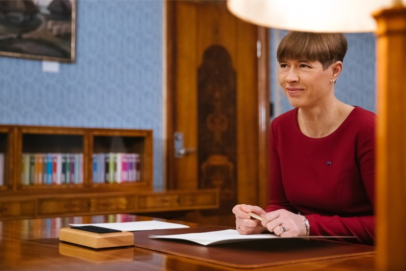 Aasta pressisõbraks valiti president Kersti Kaljulaid