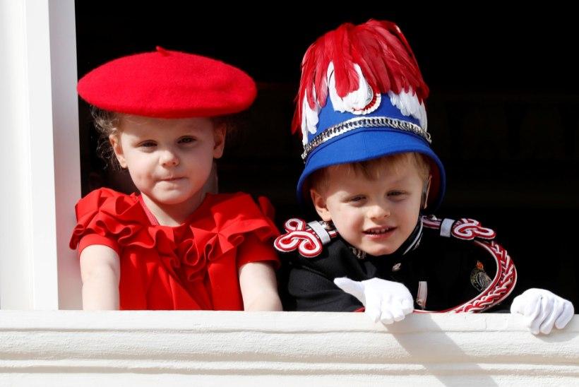 Monaco vürstipaari kaksikud saavad täna viieseks