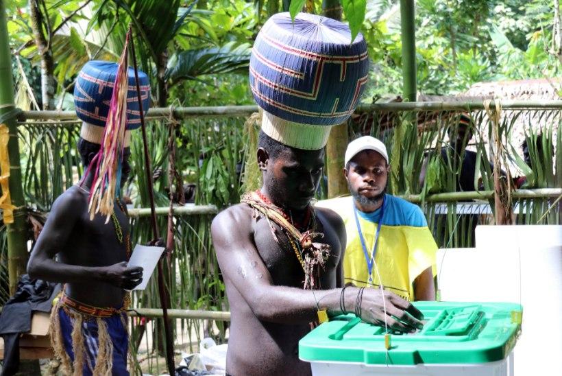 UUS RIIK ON SÜNDIMAS: 98 protsenti Bougainville'i valijatest soovib iseseisvust