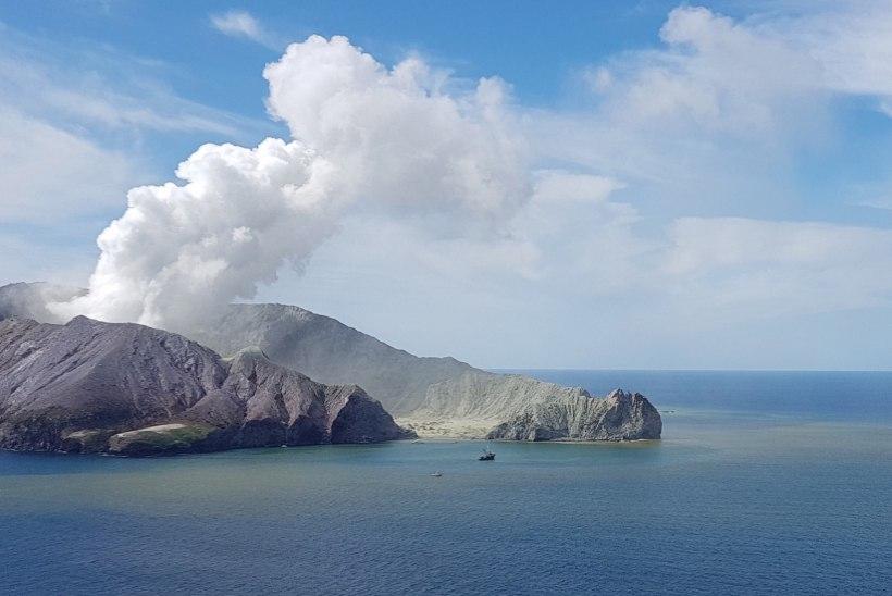 Vulkaani kasvav aktiivsus takistab Valgel saarel päästetöid