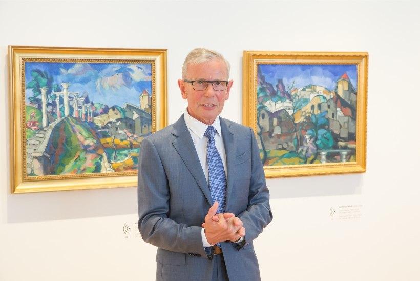 Suurärimees Enn Kunila kunstikogumisest: esimene mälestus maalikunstist pärineb ajast, mil olin kümneaastane