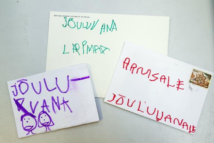 GALERII | Laste siirad soovid jõuluvanale: ralliauto, purk kondenspiima, juuksehari ja 3D pliiats