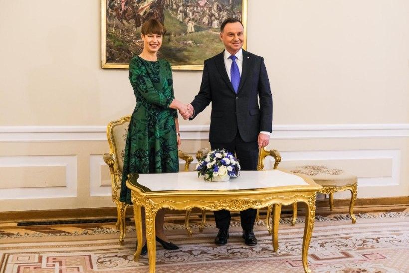 FOTOD | President Kaljulaid Poolas: Eesti on valmis ÜRO julgeolekunõukogu liikme kohustusteks