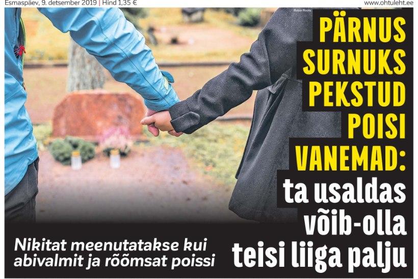 TRELLIDE TAHA: kohus mõistis Pärnus lapse tapnud teismelisele mitu aastat vangistust