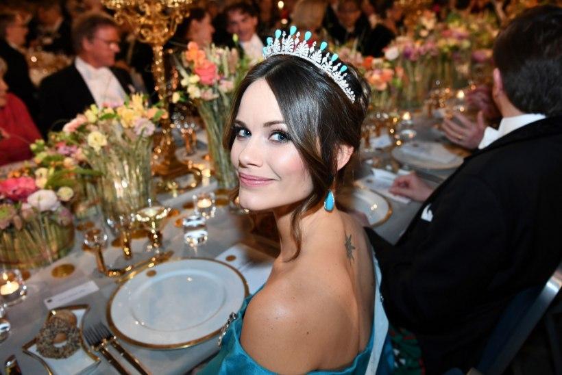 JULGE SAMM: printsess Sofia paljastas Nobeli galal tätoveeringu