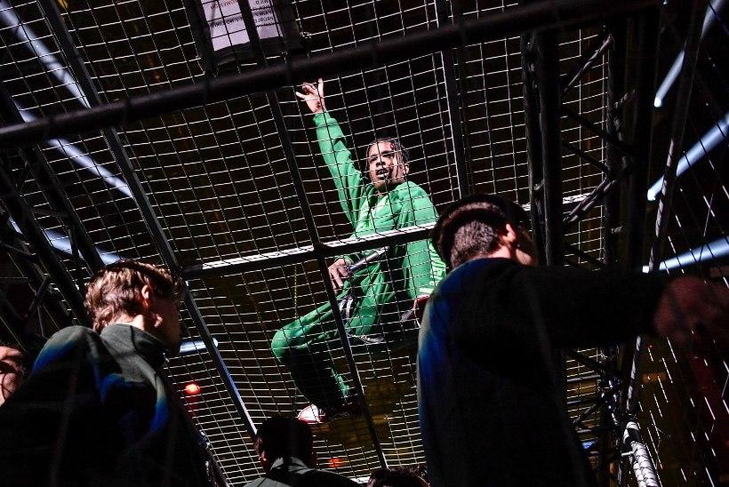 VIDEO   A$AP Rocky esines Rootsis hiiglaslikus puuris