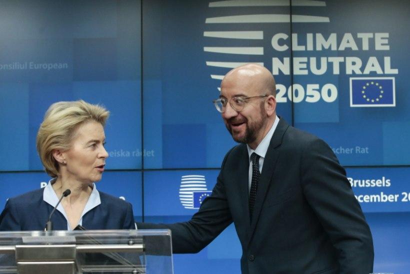 Euroopa Ülemkogu eesistuja Charles Michel – habeme ja prillidega kiilakas
