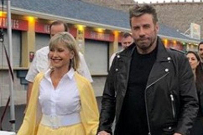 """Travolta ja Newton-John astusid taas üles """"Grease'i"""" tegelaskujudena"""