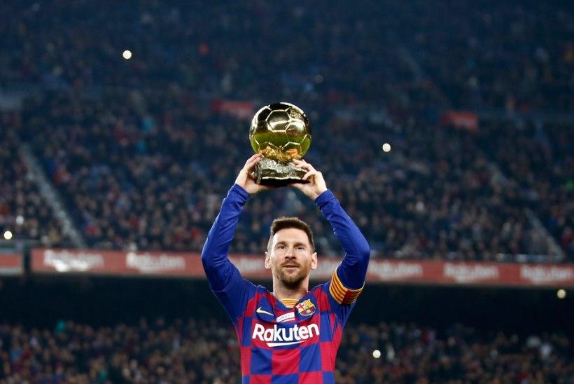 Seitsmes Ballon d'Or tulekul? Hooaja alguses vigane olnud Messi on juba tõusnud edukaimaks