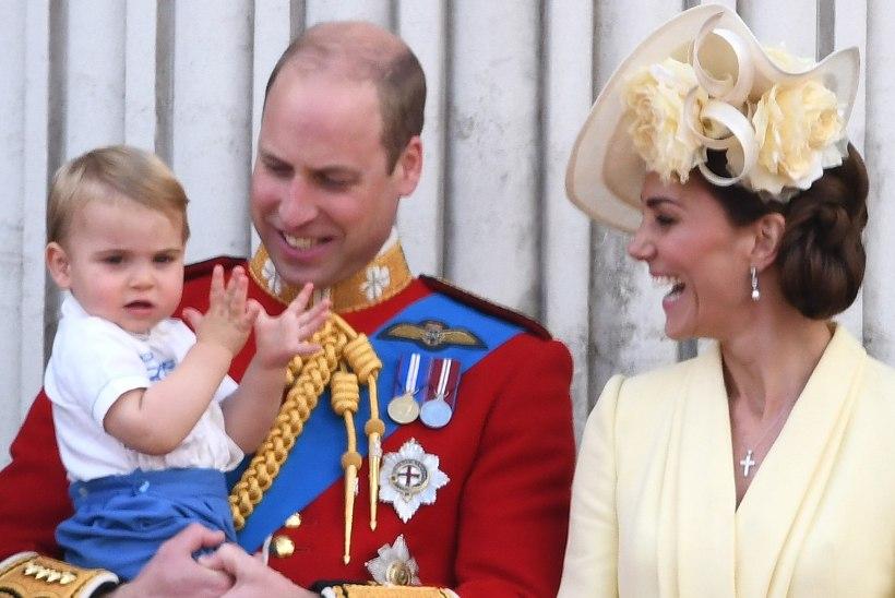 Prints Louis' üks esimesi sõnu oli väga ootamatu!