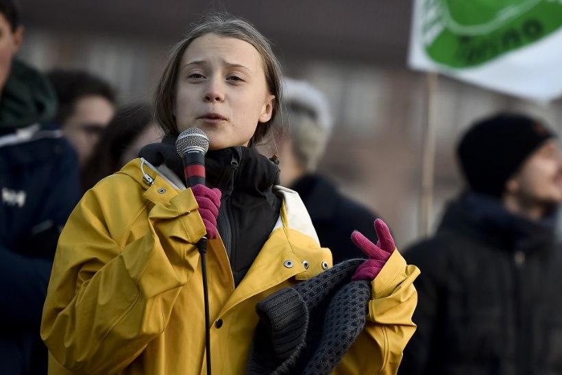 PINGUTAS ÜLE: kliimaaktivist Greta Thunberg pälvis koduteel Rootsi palju negatiivset tähelepanu