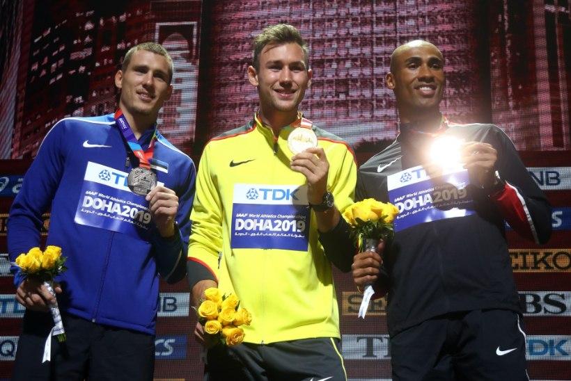 HUVITAV: Saksamaa aasta sportlase valimisel võidutses Maicel Uibo rivaal