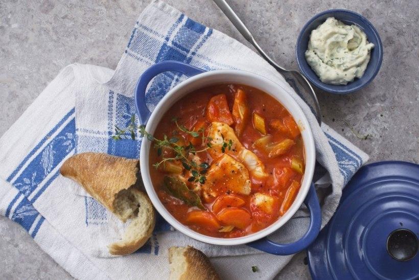Tomatine kalapada sidruniaioliga