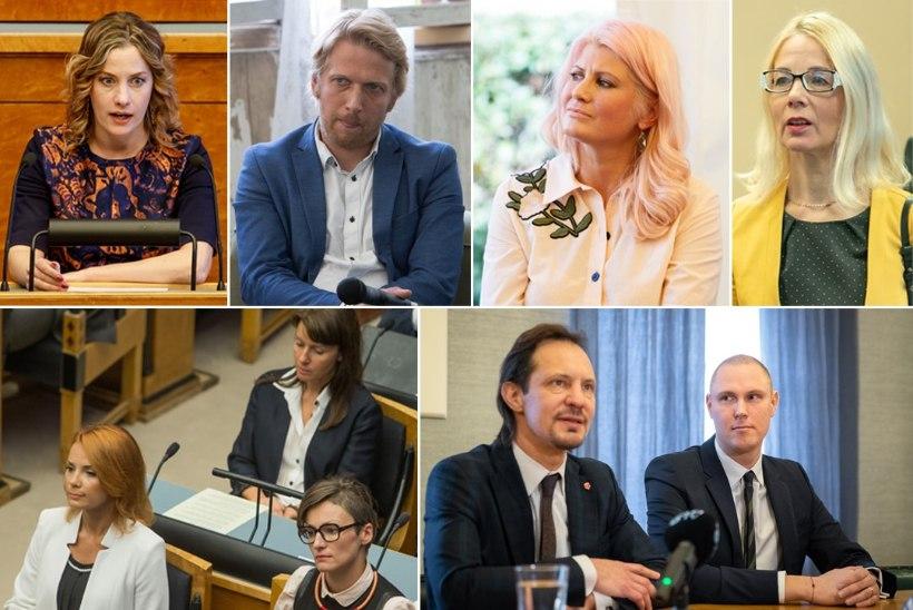 Riigikogulased mõistavad siseministri hukka. Mart Helmet kaitseb vaid tema abikaasa