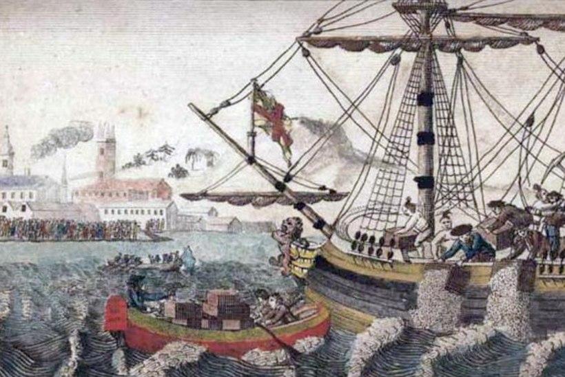 MINEVIKUHETK   16. detsember: Ameerika asunikud viskasid vette inglaste teelaadungi