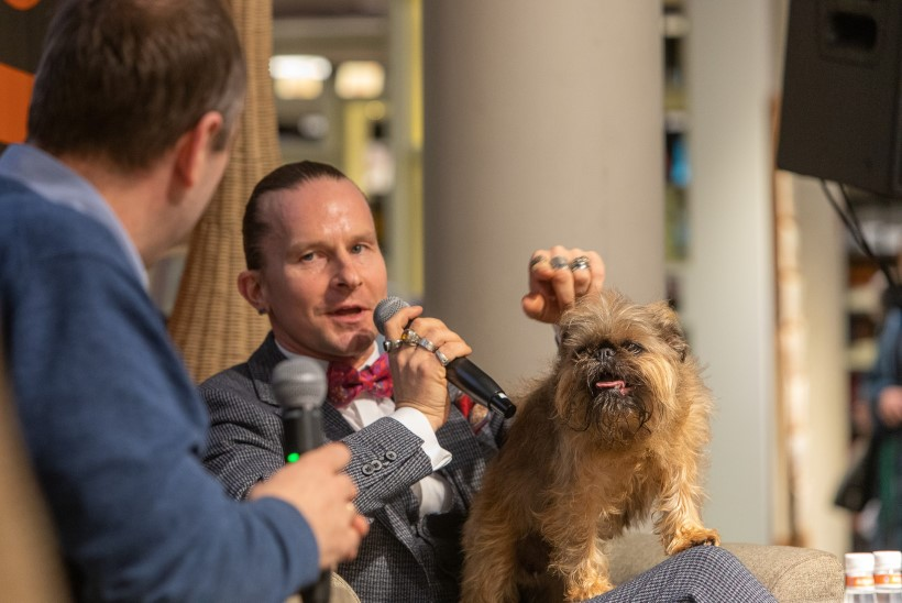 GALERII | Marek Sadam esitles raamatut, mis räägib tema kallist koerast Leenust