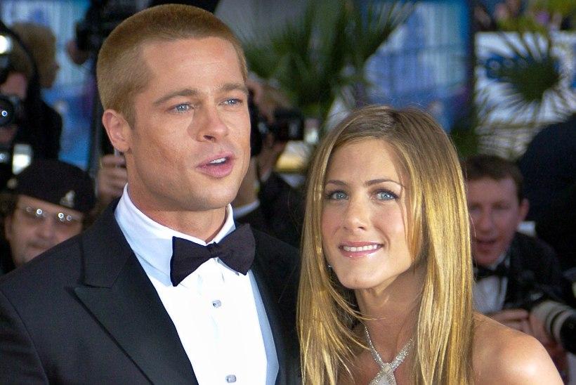 Soojendavad suhteid? Brad Pitt käis Jennifer Anistoni jõulupeol