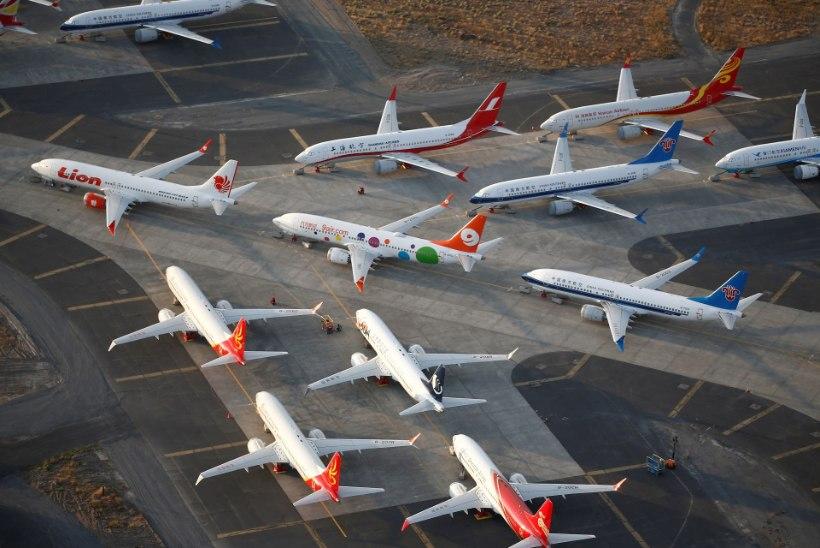 Boeing peatab probleemsete 737 Max lennukite tootmise