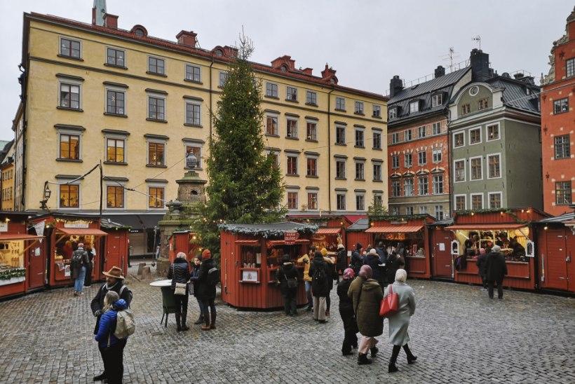 VIDEO JA GALERII | Stockholmi vanim jõuluturg: pisike, aga pipilik ja mõnusalt taskukohane