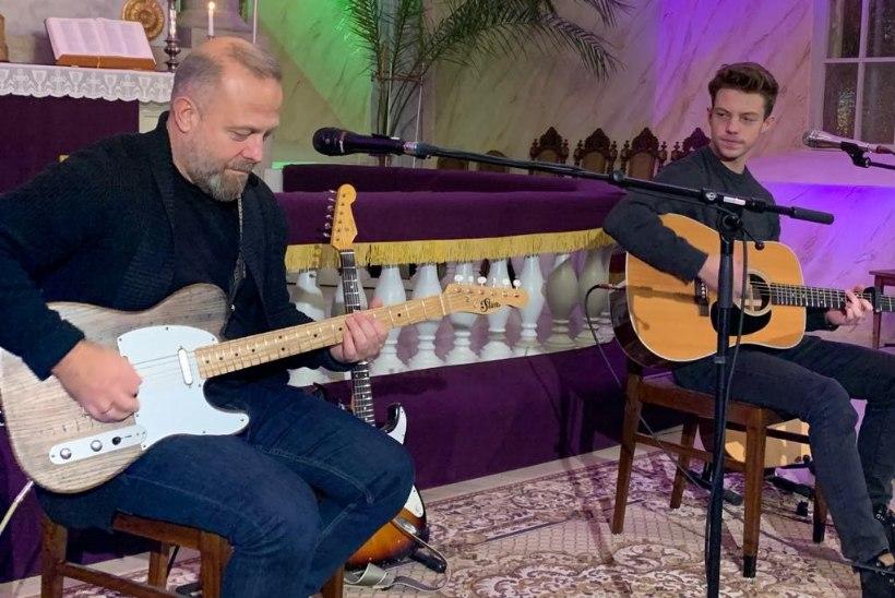 PILDID | Raul ja Carlos Ukareda südamlik isa-poja jõulukontsert on puhas rõõm