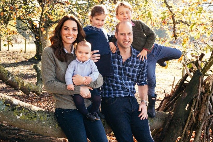 Prints Williami pere jõulukaart on tänavu õige üllatav!