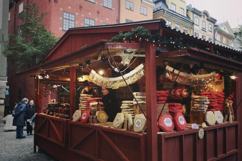 VIDEO | Stockholmi jõuluturu toit: magus, magus ja siis lihtsalt veider. Aga väga lindgrenlik