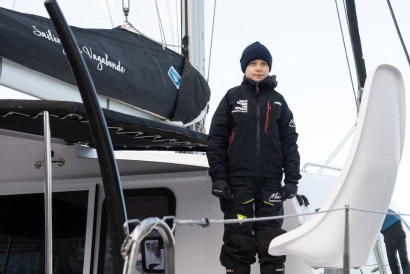 TAGASI EUROOPAS: Rootsi kliimaaktivist Greta Thunberg saabus Lissaboni