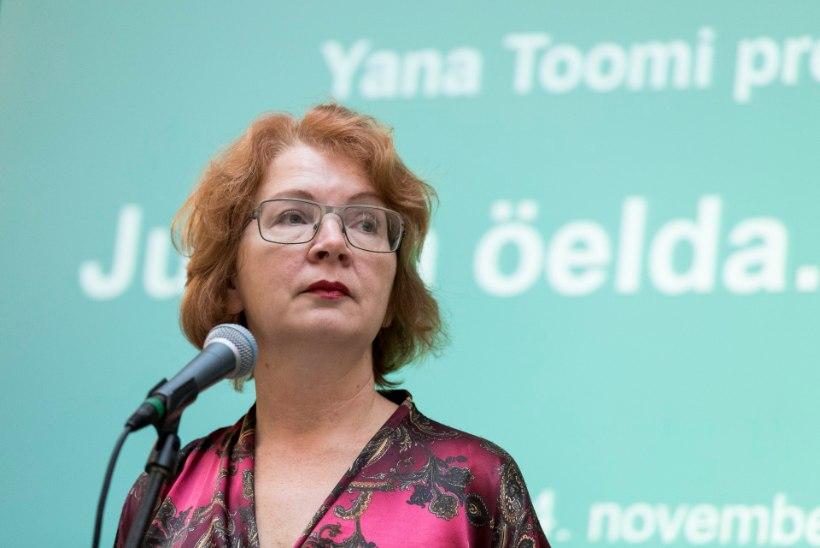 Yana Toomi büroo reklaam trammidel maksab üle 650 euro kuus