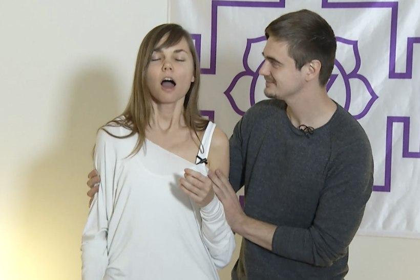 TV3 VIDEO | Mehe maagilised käed? Joogaõpetaja sai taaskord nipsust orgasmi, seekord Taavi Libe käte vahel!