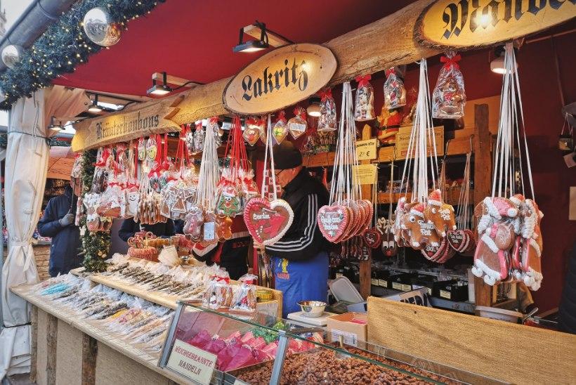 VIDEO   Berliini Gendarmenmarkti jõuluturu toit: sobilik igat masti gurmaanidele, on tänavatoitu ja eliitrestorane
