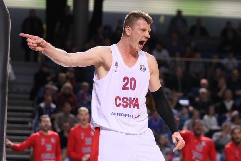 GALERII   KARM REAALSUS! Võimas Moskva CSKA tegi Kalev/Cramoga sotid selgeks esimese viie minutiga